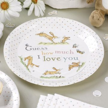 Guess How Much I Love you - Party Plates - pack of 8